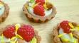 Taro Tartlets Closeup - GrokGrub